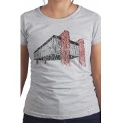 Camiseta Cinza Sampa: MASP