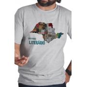 Camiseta Cinza São Paulo Literário