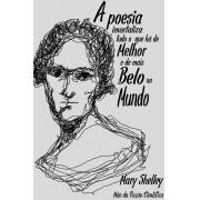 Camiseta Cinza Shelley, Mãe da Ficção Científica