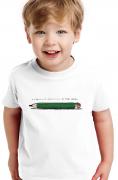 Camiseta Infantil Branca A Fabulosa Máquina de fazer Versos