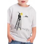 Camiseta Infantil Branca Castro Alves