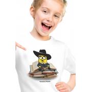 Camiseta Infantil Branca Ferminion Pessoa
