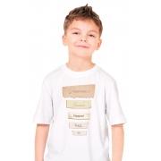 Camiseta Infantil Branca Vossa Mercê