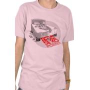 Camiseta Rosa Amor é Prosa, Sexo é Poesia