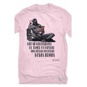 Camiseta Rosa As Armas de Deleuze