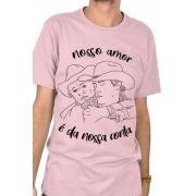 Camiseta Rosa É da nossa conta
