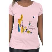 Camiseta Rosa Elisa Lucinda