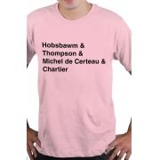 Camiseta Rosa Historiadores Helvética