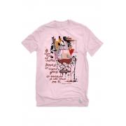 Camiseta Rosa Marguerite para beber