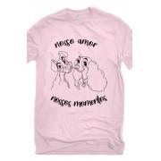 Camiseta Rosa Nossos Momentos
