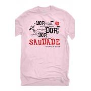 Camiseta Rosa O Amor em Cordel: Patativa do Assaré
