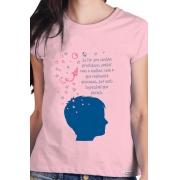 Camiseta Rosa Precisamos sonhar