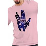 Camiseta Rosa Star Trek