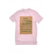 Camiseta Rosa Vadiagem Remunerada