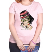 Camiseta Rosa Virginia Woolf