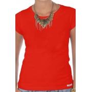 Camiseta Vermelha Básica