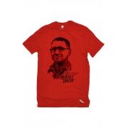 Camiseta Vermelha Brecht Herói