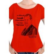 Camiseta Vermelha Freud, pai da psicanálise
