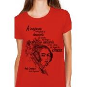Camiseta Vermelha Lovelace, Mãe da Programação
