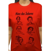 Camiseta Vermelha Mães dos Saberes