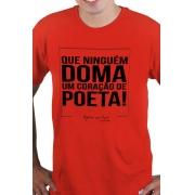 Camiseta Vermelha Ninguém Doma