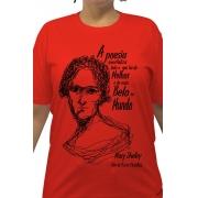 Camiseta Vermelha Shelley, Mãe da Ficção Científica