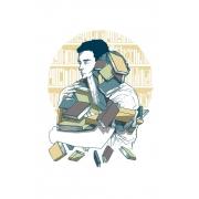 Caneca Amo Livros