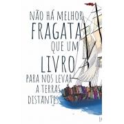 Caneca Fragata literária: Emily Dickinson