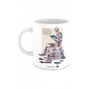 Caneca Livros nos Tornam Maiores