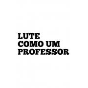 Caneca lute como um professor