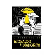 Caneca O Amor em Cordel: Riobaldo e Diadorim