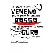 Caneca O Amor em Cordel: Teodoro Ferraz