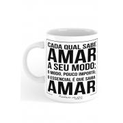 Caneca Saiba Amar