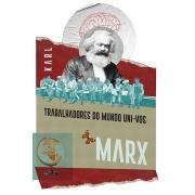 Caneca Trabalhadores do Mundo de Karl Marx