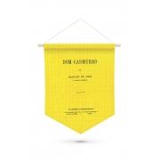 Flâmula Capa de Livro Dom Casmurro