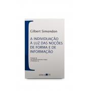 Livro A individuação à luz das noções de forma e de informação