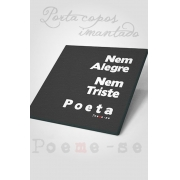 Porta Copos Poeta