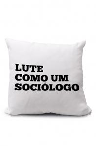 Almofadinha Lute como um Sociólogo