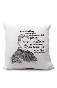 Almofadinha Tesla, pai da eletricidade