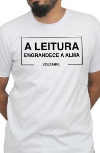 Camiseta Branca Alma de Voltaire