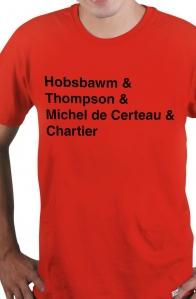 Camiseta Vermelha Historiadores Helvética