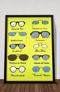 Quadro Óculos (Di)versos