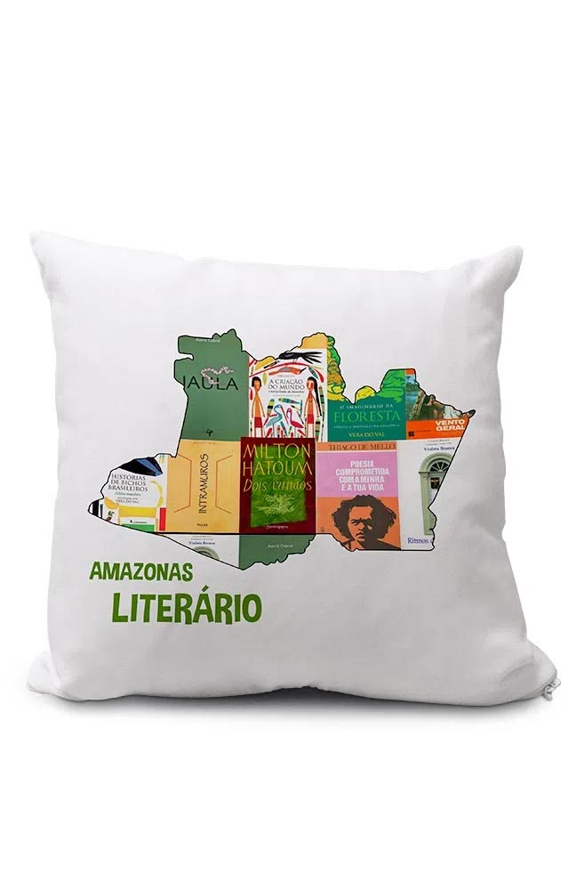 Almofadinha Amazonas Literário