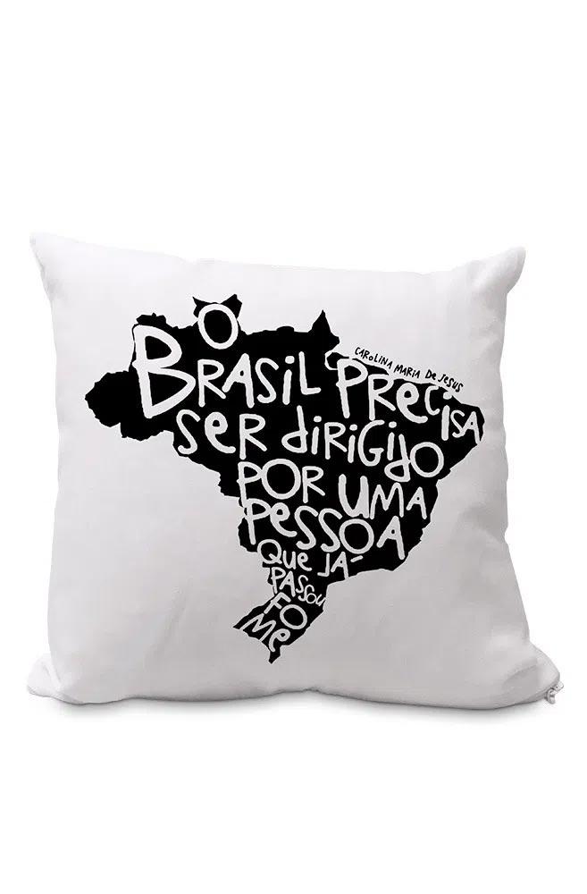 Almofadinha Fome de Brasil