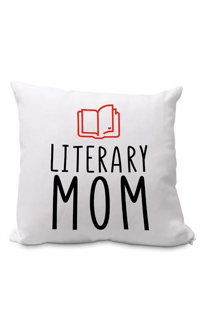 Almofadinha Literary Mom