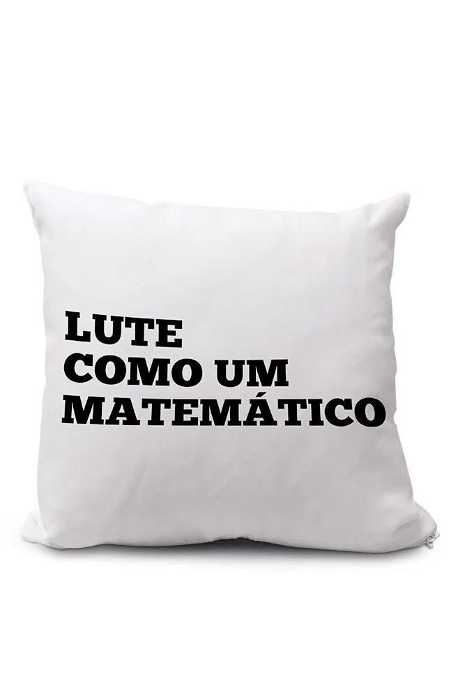 Almofadinha Lute como um Matemático