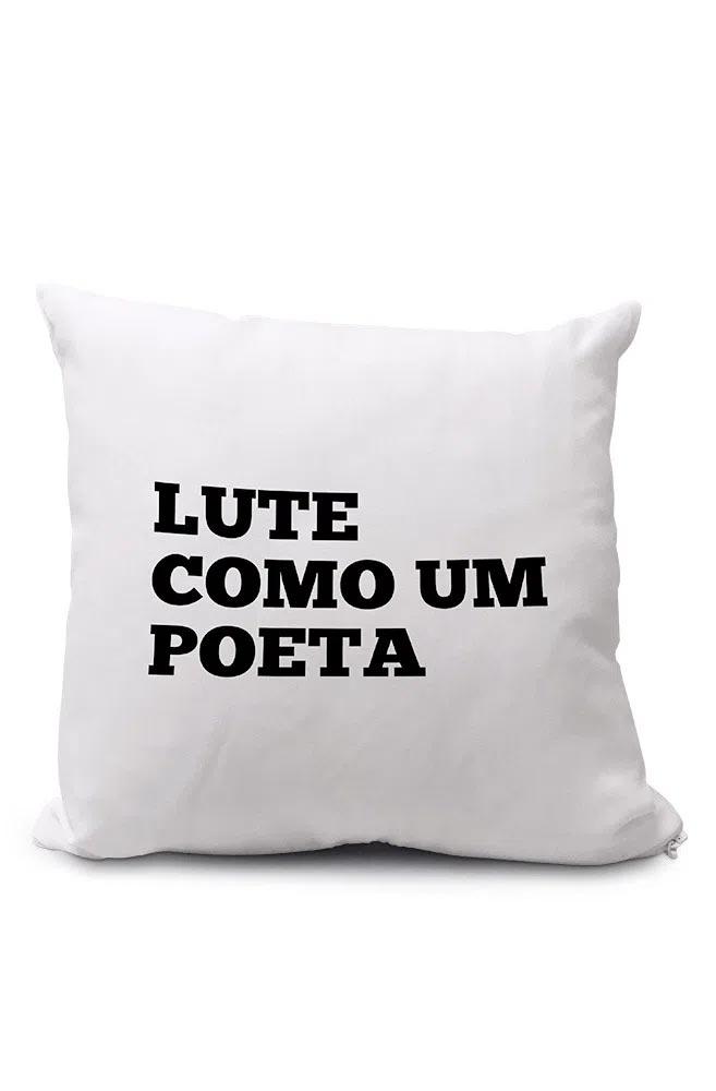 Almofadinha Lute como um Poeta