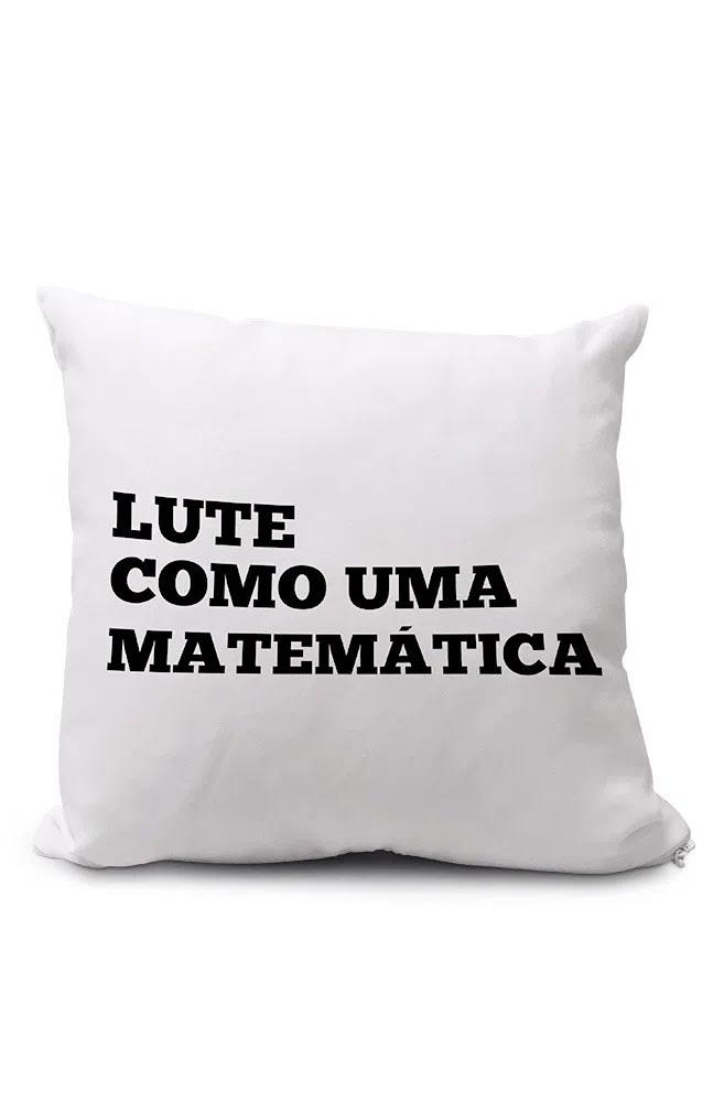 Almofadinha Lute como uma Matemática