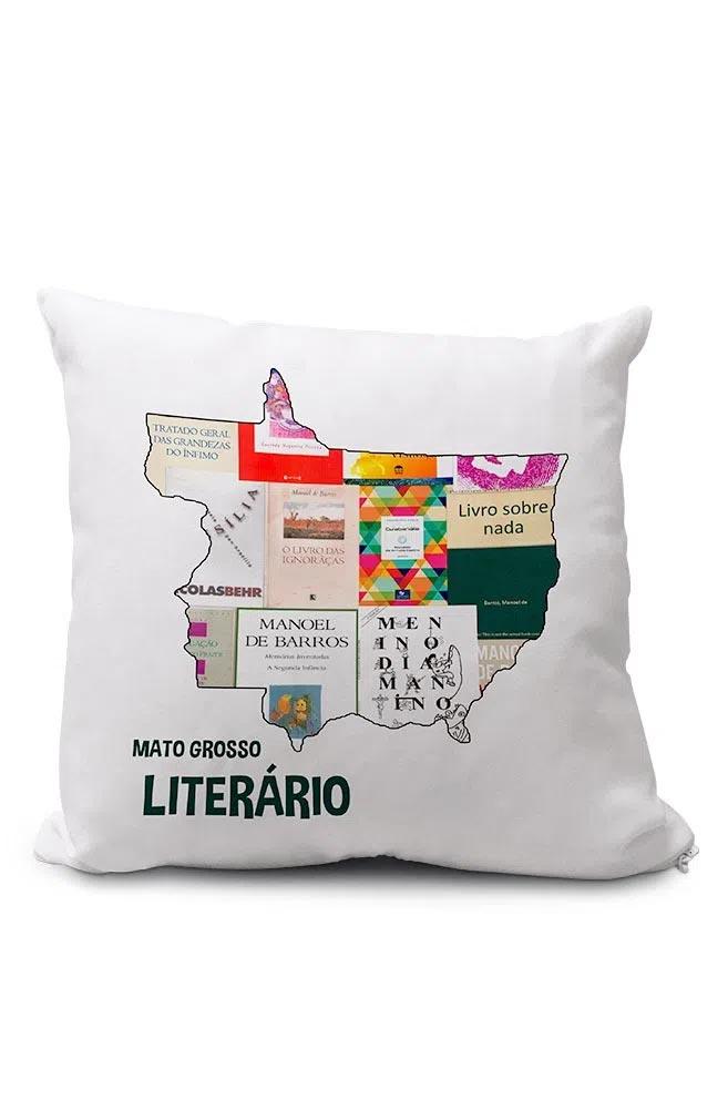 Almofadinha Mato Grosso Literário