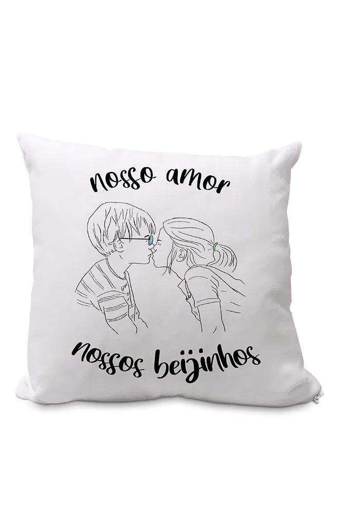 Almofadinha Nossos Beijinhos